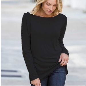❤️❤️❤️Slouched black top
